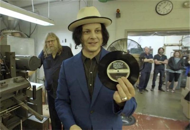 Who said that vinyl was dead; Jack White shows it's still kicking